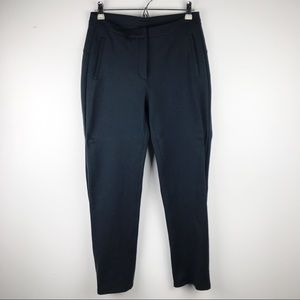 Lululemon On The Move Pants Black Ponte Sz 6